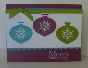 Christmas Cards with In Color Style