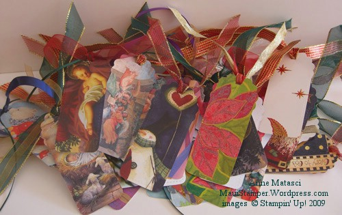 Recycled cards from Two Tags Bigz