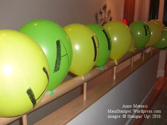 Balloon Banner:  Matt Happy Birthday