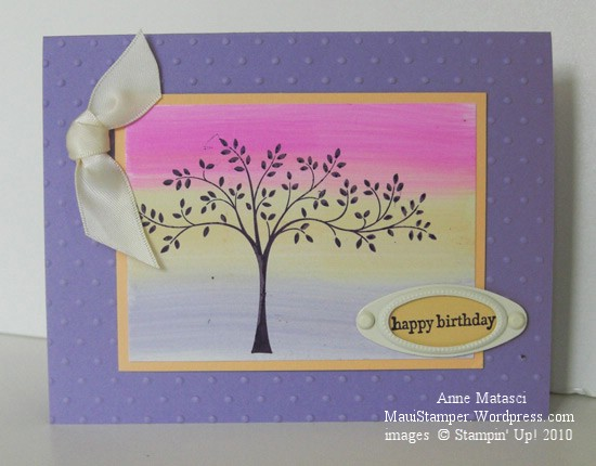 Stampin' Up! Lavender Lace Thoughts and Prayers
