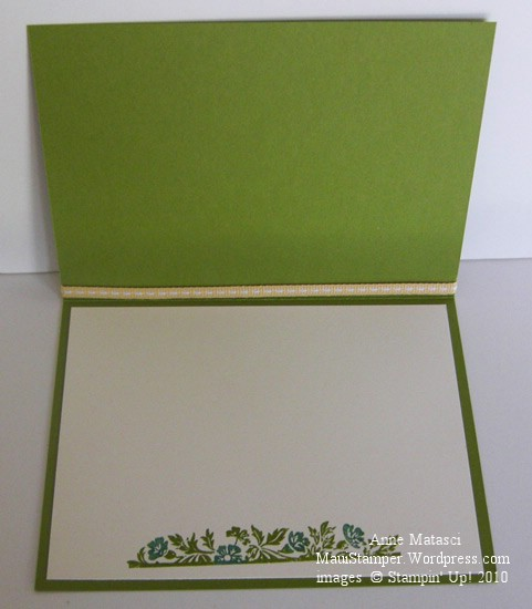 Vintage Vogue Stampin' Up! interior