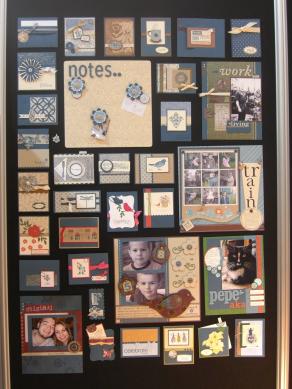 Stampin' Up! Convention 2010 display boards