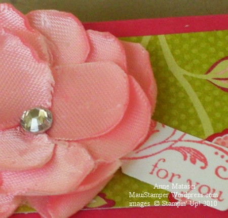 Candy Wrapper Ribbon Flower
