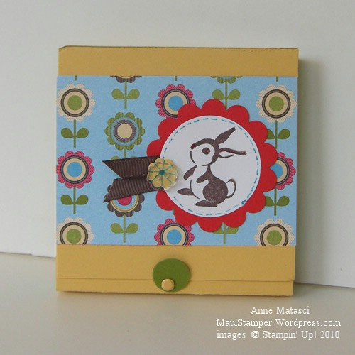 Ta Da!  The Matchbook Sticky Note holder