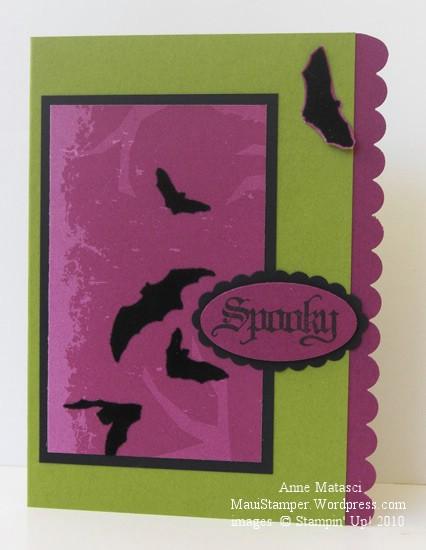 Kellie's Spooky bats