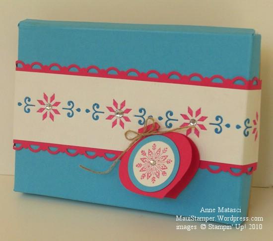 Letterpress Gift Box