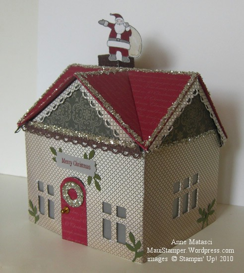 Santa on the Roof top