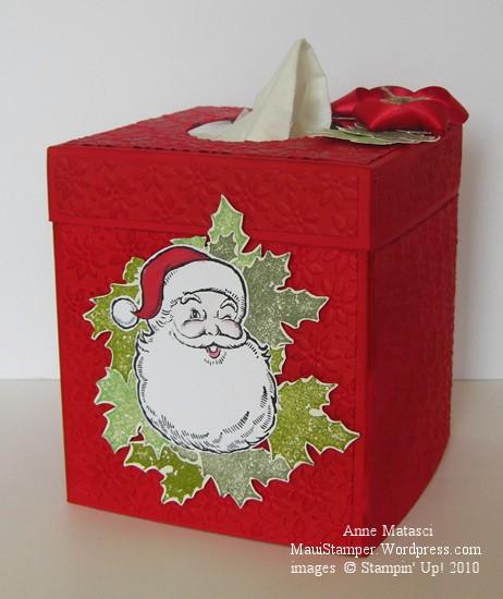 Santa and the Kleenex