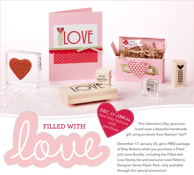 Filled with Love promotion