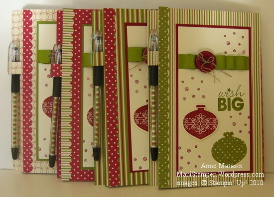 Jolly Holiday Notepads
