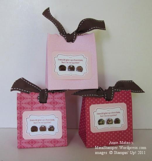 Fancy Favor Chocolate Valentines