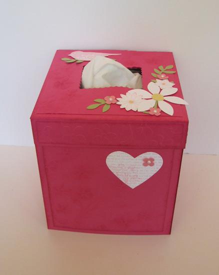 Valentine Tissue box