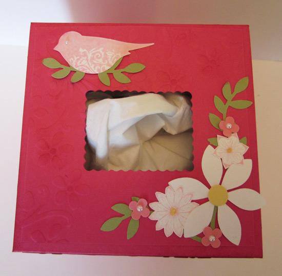 Valentine Tissue Box top