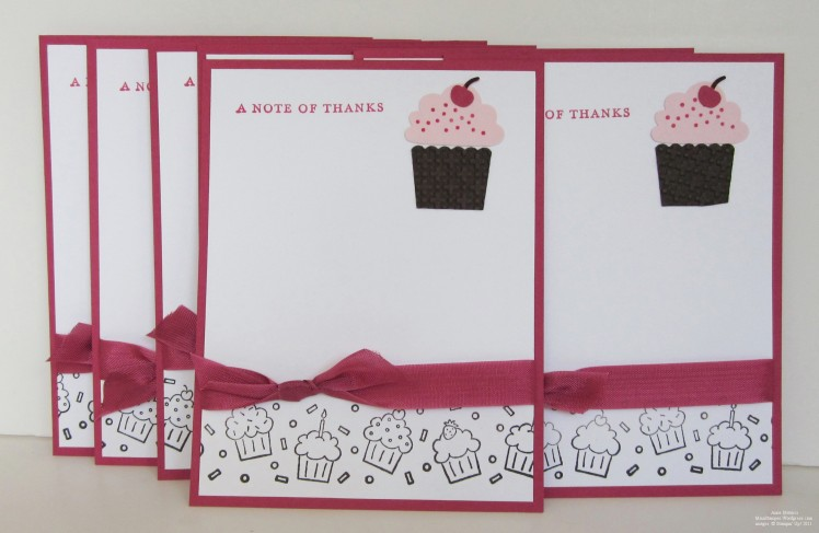 Cupcake Notes