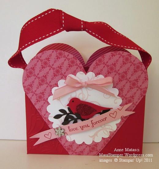 Petal Cone Heart box