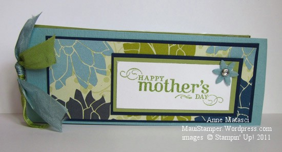 Mom's Simply Adorned card