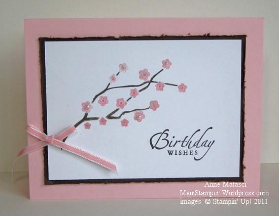 Cherry Blossom Birthday