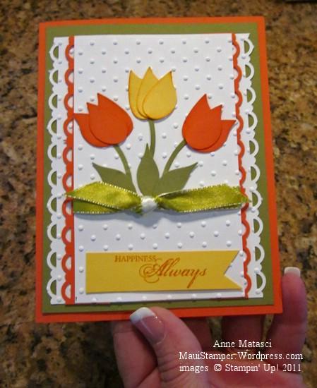 Robbie's tulip card
