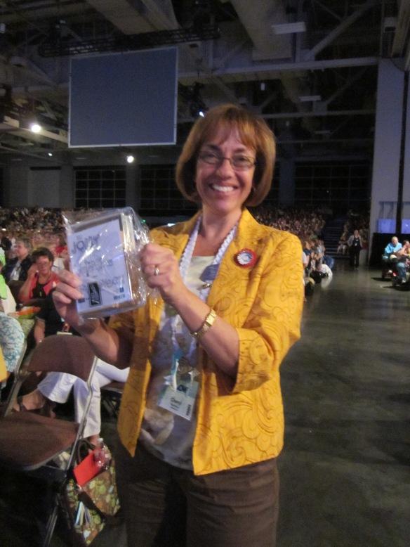 Cheryl won prize patrol!