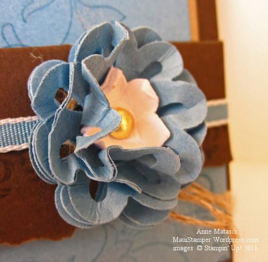 Marina Mist Flower Embellishment