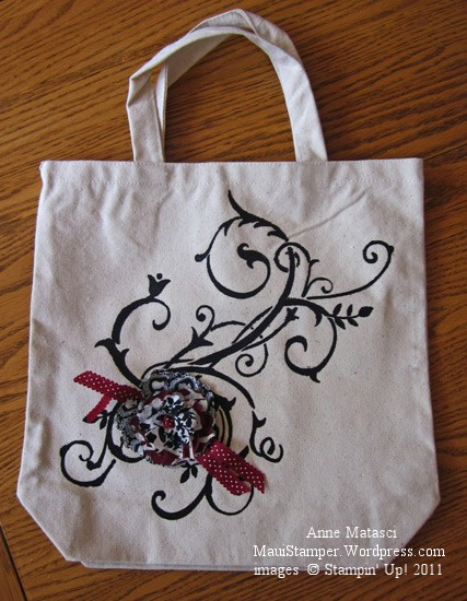 Baroque Motif tote bag