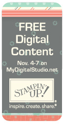 Stampin' Up! Free Digital Content!