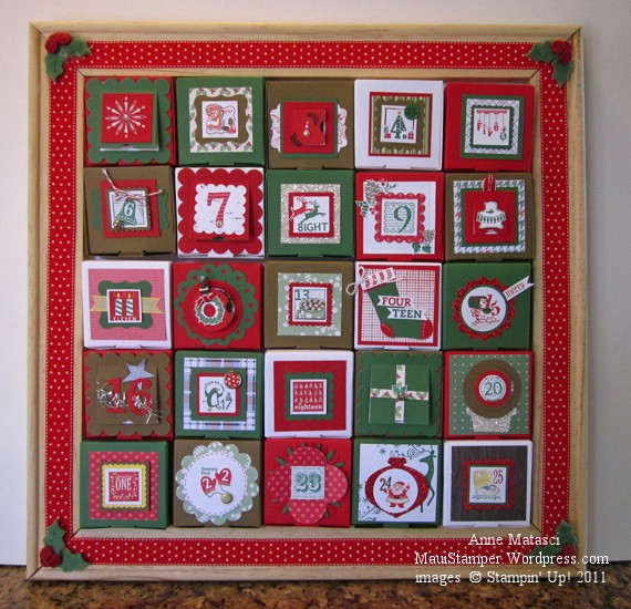 Framed Advent Calendar