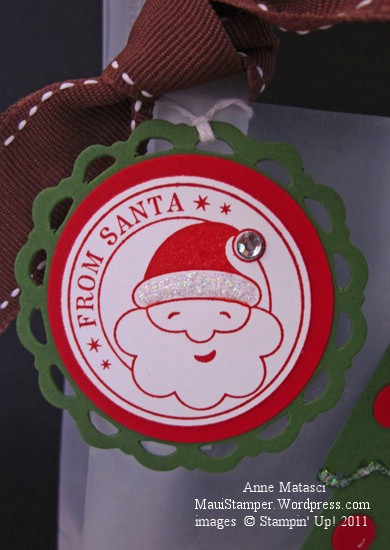 From Santa Bag Tag