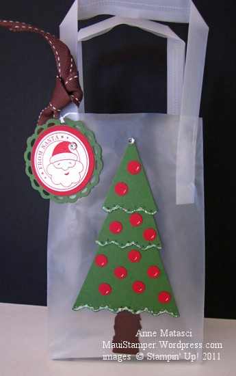 Perfect Pennants Tree Gift Bag