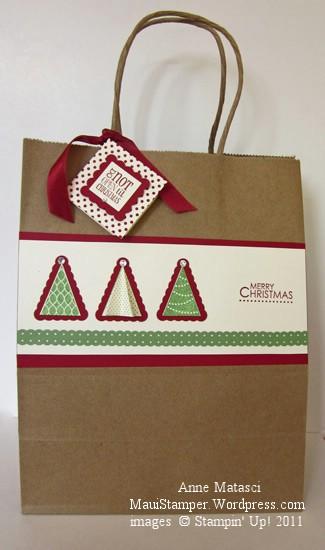 Cheryl's Pennant Tree bag