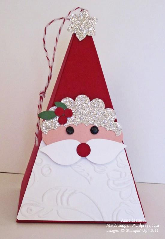 Petal Cone Santa
