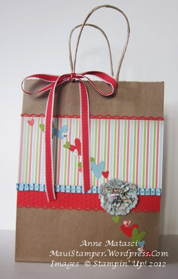 Leadership Secret Sisters swap gift bag