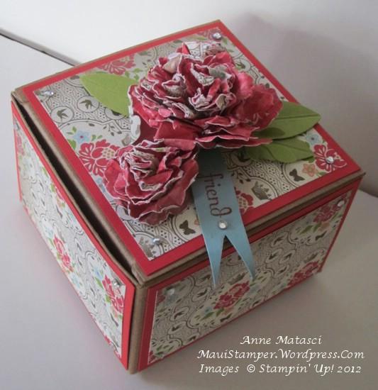 Leadership Secret Sisters swap gift box