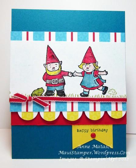 Gnome Sweet Gnome Birthday