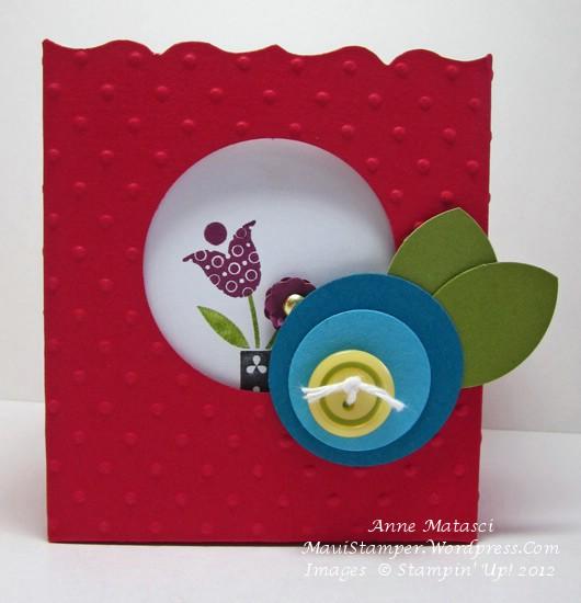 Summer Smooches 3 x 3 cards