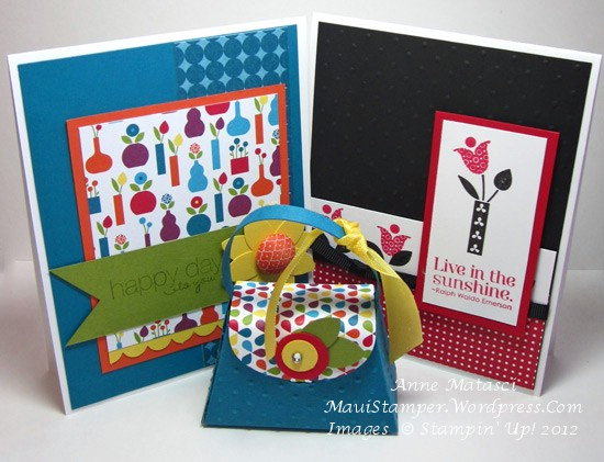 Summer Smooches cards and Petite Purse