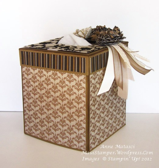 Mocha Morning Tissue Box