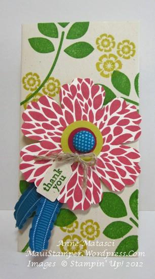 Maui Stamper Betsy's Blooms Petite Pocket