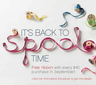 Free ribbon with $40 order
