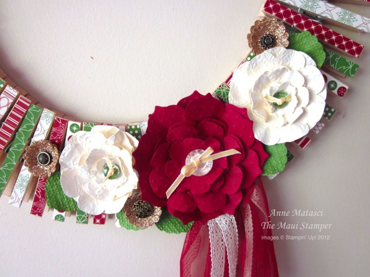 Be of Good Cheer Stampin' Up! Wreath