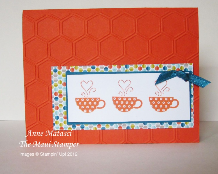 Maui Stamper 2013 Sale-a-bration Patterned Occasions