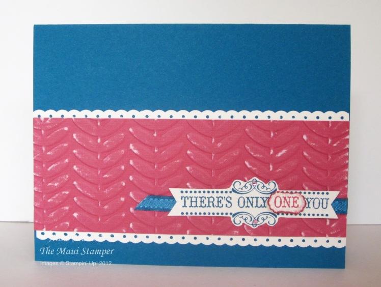 Maui Stamper Vintage Verses SAB