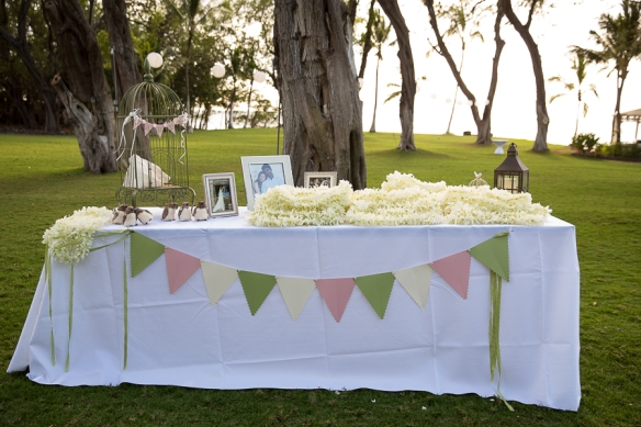 MauiStamper wedding pennants