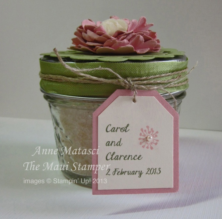 Maui Stamper Wedding Favors