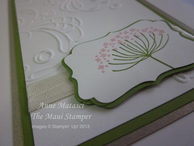 Maui Stamper Wedding Invitation