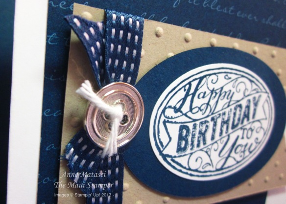 Maui Stamper Best of Birthdays card class