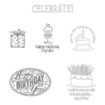 Stampin' Up! 25th Anniversary Best of Birthdays