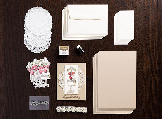 Stampin' Up! Dolled Up card kit