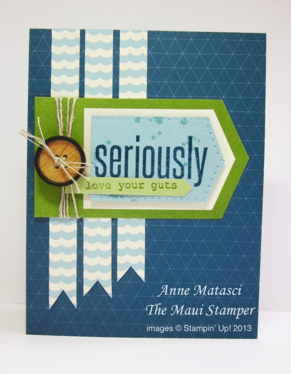 Stampin' Up! Maui Stamper May My Paper Pumpkin