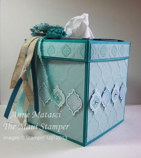 Maui Stamper Mosaic Madness Tissue Box